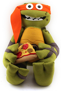 Pizza Power Up (Michelangelo), Felt Mistress