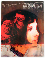 Bill Sin-kev-itch Sketchbook 2012, Bill  Sienkiewicz