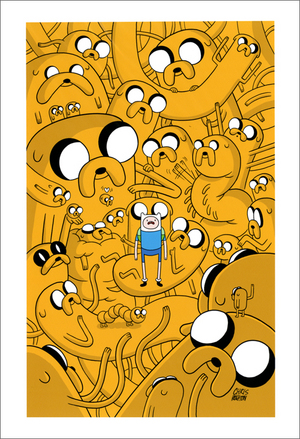 Cover for Adventure Time Issue #8, Chris Houghton & Kassandra Heller