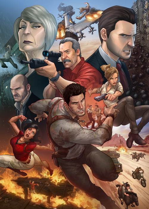 Uncharted 3, Patrick Brown