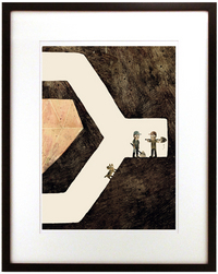 Sam & Dave Dig A Hole - Page 18 (Straight Down), Jon Klassen