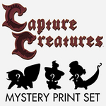 Capture Creatures Mystery Print Set, Becky