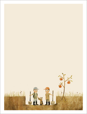 Sam & Dave Dig a Hole - Page 4 - On A Mission, Jon Klassen