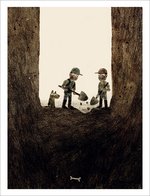 Sam & Dave Dig a Hole - Page 12 - Last Animal Cookie, Jon Klassen