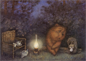 Hedgehog and Bear, Yuri Norstein