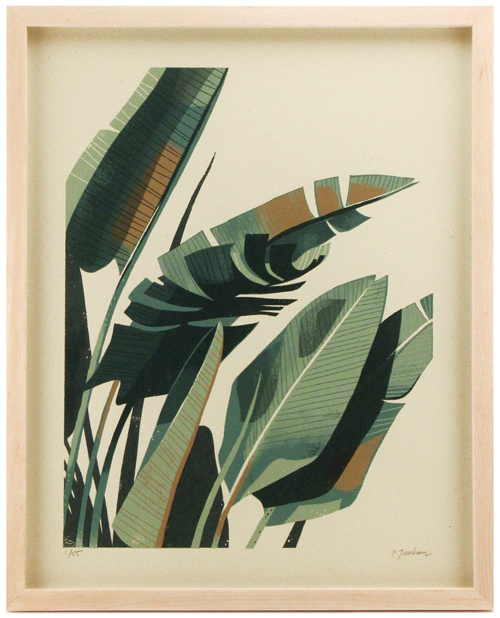Palm Plant 2, Chris Turnham