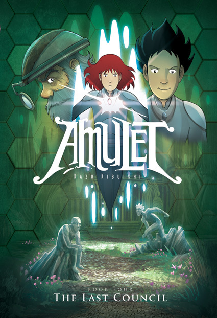 Amulet #4: The Last Council, Kazu Kibuishi