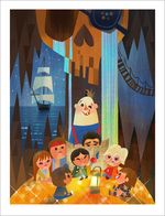 One Eyed Willy (print), Joey Chou