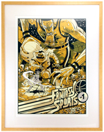 Fantasy Sports Print (framed), Sam Bosma