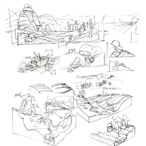 Dynamic Landscape Drawing & Composition workshop w/ Will Weston (October 2015)