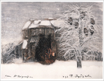 Tale of Tales - Winter, Old House (unframed), Yuri Norstein