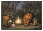 Hedgehog and Bear (unframed), Yuri Norstein