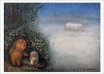 Hedgehog and Bear with Horse (unframed), Yuri Norstein