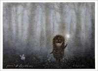 Hedgehog and Firefly  (unframed), Yuri Norstein
