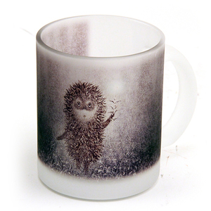 Hedgehog in the Fog Mug: Hedgehog and Firefly