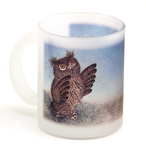 Owl and the Hedgehog Mug