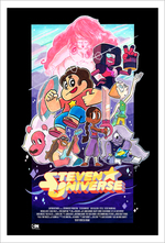 "Steven Universe ""The Movie"" Poster, Joseph Johnston"