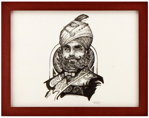 The Other Side of the Mirror [Man in Turban], Justin Gerard