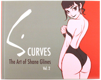 S Curves The Art of Shane Glines vol. 2, Shane Glines