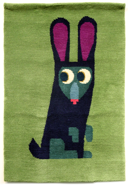 Chris Haughton Handwoven Rug (Rabbit), Chris Haughton