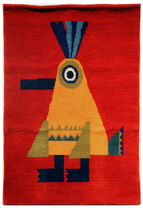 Chris Haughton Handwoven Rug (Chicken), Chris Haughton