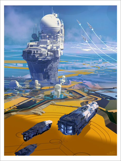 Outpost Arrival, Sparth