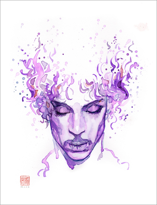 Dearly Beloved (Prince), david  mack