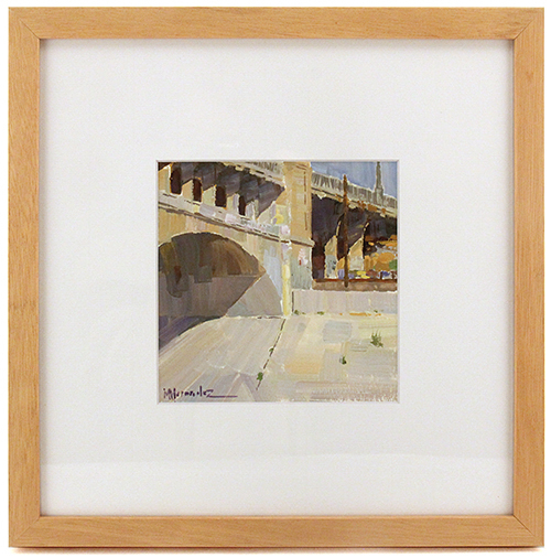 6th street bridge over LA river, mike hernandez