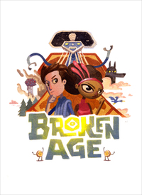 Broken Age Exclusive print, Nathan Stapley