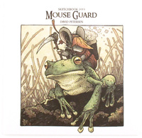 Mouse Guard Sketchbook 2015, David Petersen
