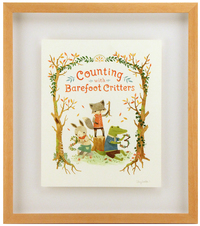 Counting with Barefoot Critters (Cover Art), Teagan White