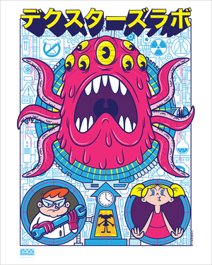 Dexter's Lab Tribute (Print), CHOGRIN