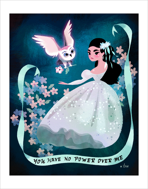 You Have No Power Over Me (print), Tara Nicole Whitaker