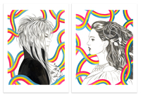 Jareth and Sarah (Print), Jennifer Mundy