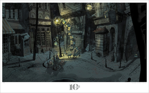 Boxtrolls - Light Gathering, Michel Breton