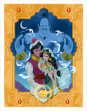 Arabian Nights (print) Limited Edition of 50, Phillip Light