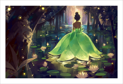 Bayou Princess (print) Limited Edition of 50, Xinwei Huang