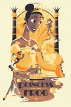 Cyclops Print Works #55: The Princess and the Frog - Josh Holtsclaw (print) Limited Edition of 150, Princess and the Frog