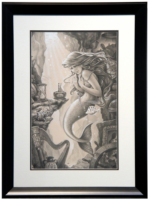 Ariel's Treasured Things - Edson Campos, The Little Mermaid