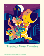 Cyclops Print Works #57: The Great Mouse Detective - Dave Perillo (print) Limited Edition of 95, The Great  Mouse Detective