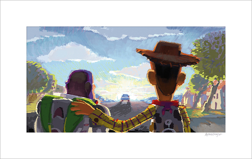 Beat Board: Goodbye Andy by Robert Kondo (Toy Story 3)