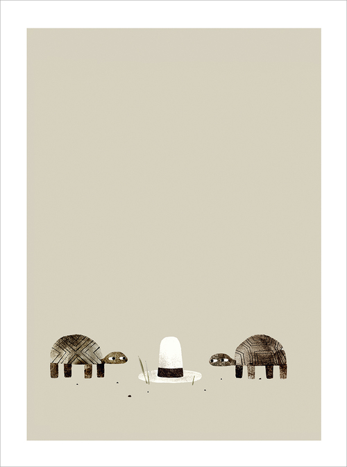 We Found A Hat - Page 16-17, Jon Klassen