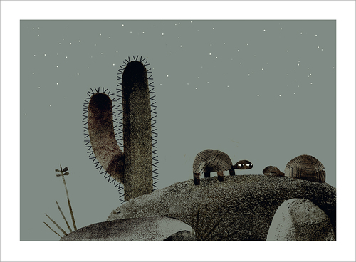 We Found A Hat - Page 48-49, Jon Klassen