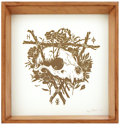 Shrines (Framed Art Print), Teagan White