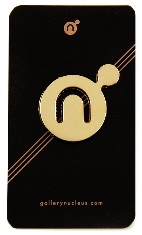 Nucleus Enamel Pin
