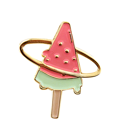Suika Bar (Watermelon) Enamel Pin, Gabby Howitz