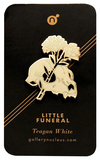 Teagan White Little Funeral Enamel Pin, Teagan White