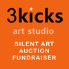 3 Kicks Art Studio: Silent Art Auction Fundraiser