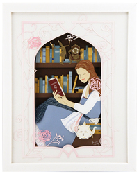 Belle in the Library, Jackie Huang