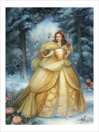 Winter's Rose (PRINT), Annie Stegg